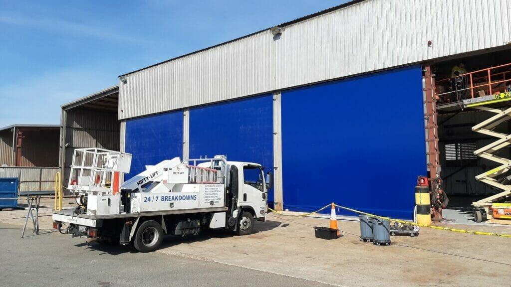 BHP Industrial Curtains